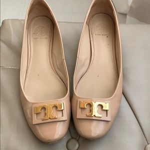 Tory Burch Gigi low heels nude